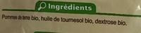 Frites au four - Ingrediënten - fr