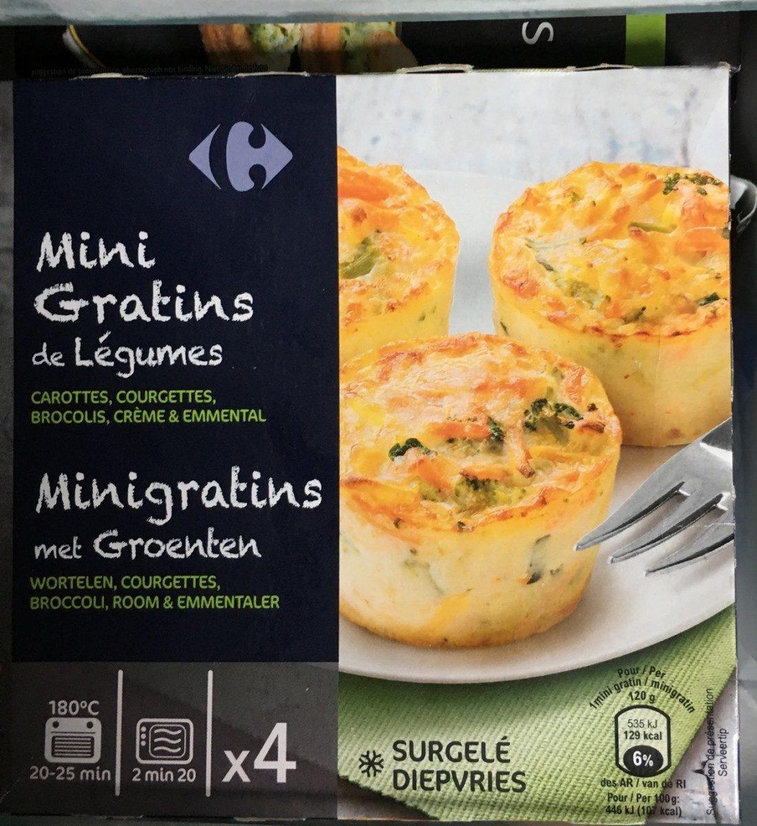 Mini gratins de legumes - Product - fr