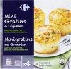 Mini gratins de legumes - Produit