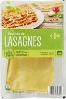 Feuilles de Lasagne - Product