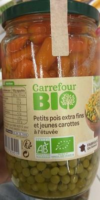 Petits pois Extra Fins et jeunes carottes - Produit