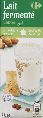 Lait fermenté Leben - Product - fr