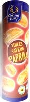Tuiles saveur Paprika - Product