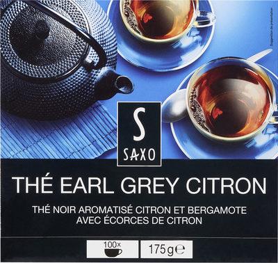 Thé Earl Grey Citron - Produit - fr