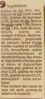 Le Gourmand - Ingrediënten - fr