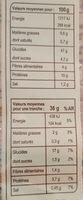 Le Gourmand - Valori nutrizionali - fr