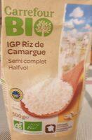Riz de camargue semi-complet bio - Product - fr