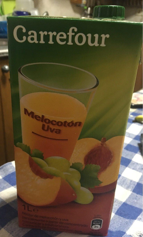 Néctar melocotón uva - Produit - fr