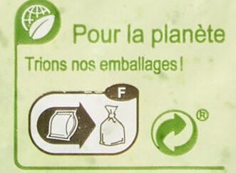 Brocolis en fleurettes - Instruction de recyclage et/ou informations d'emballage - fr