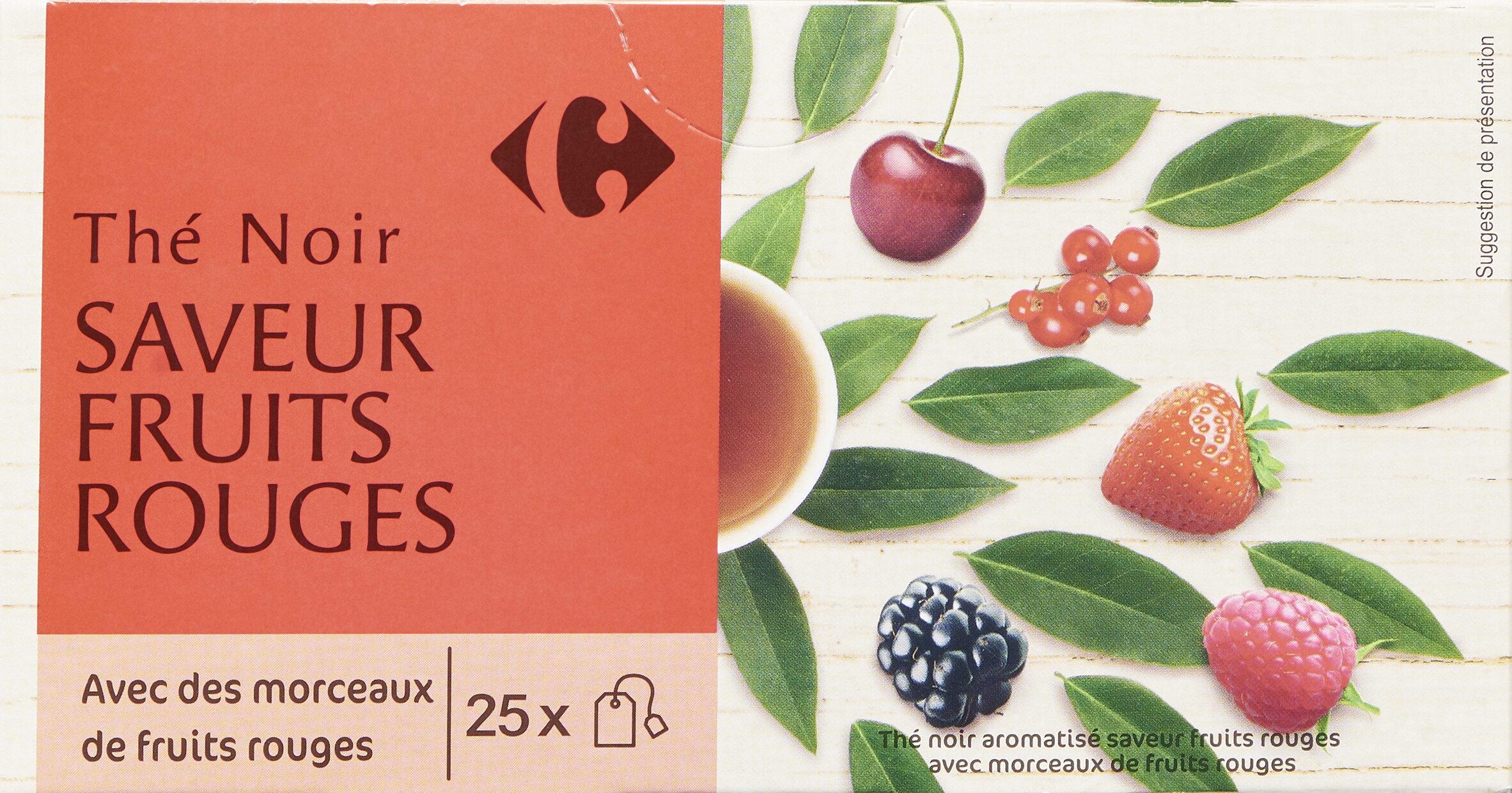 Thé Noir Fruits Rouges - Produit - fr
