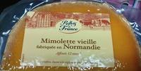 Mimolette vieille fabriquée en Normandie - Produit