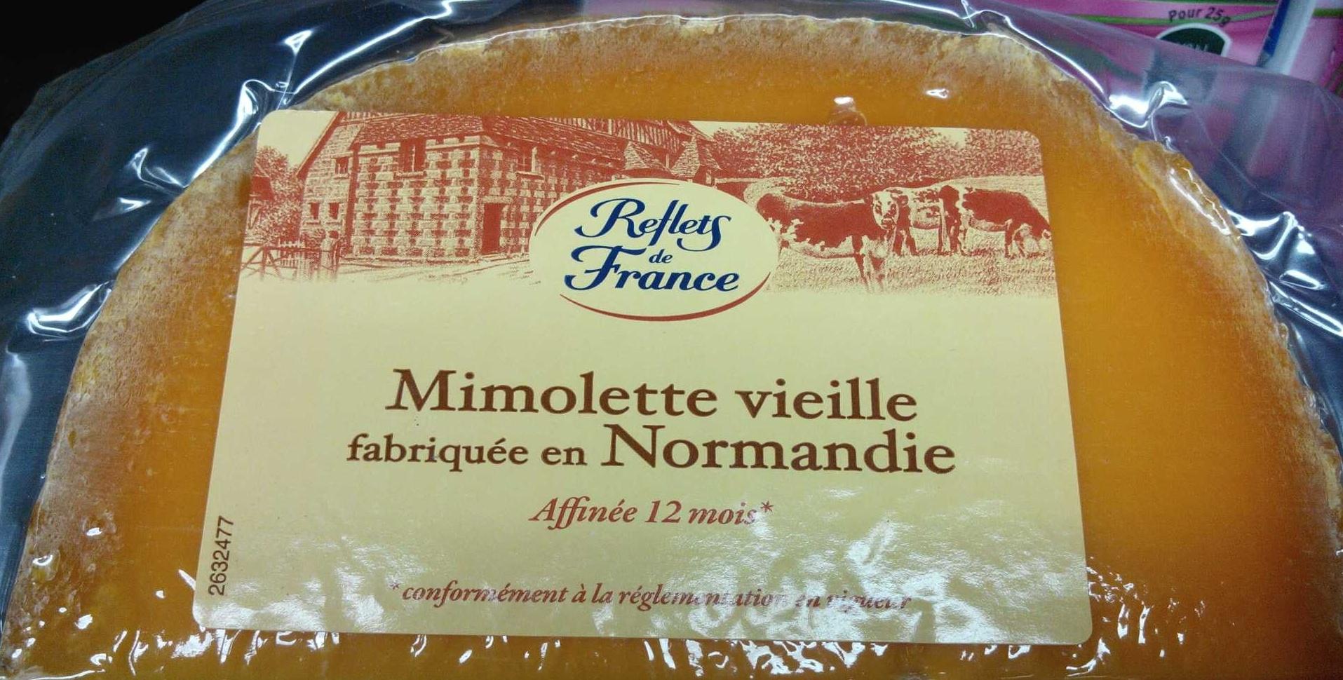 Mimolette vieille fabriquée en Normandie - Produit - fr