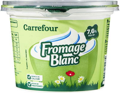 Fromage blanc Nature - Product - fr
