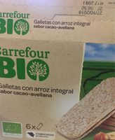 Biscuit riz integral - Producte