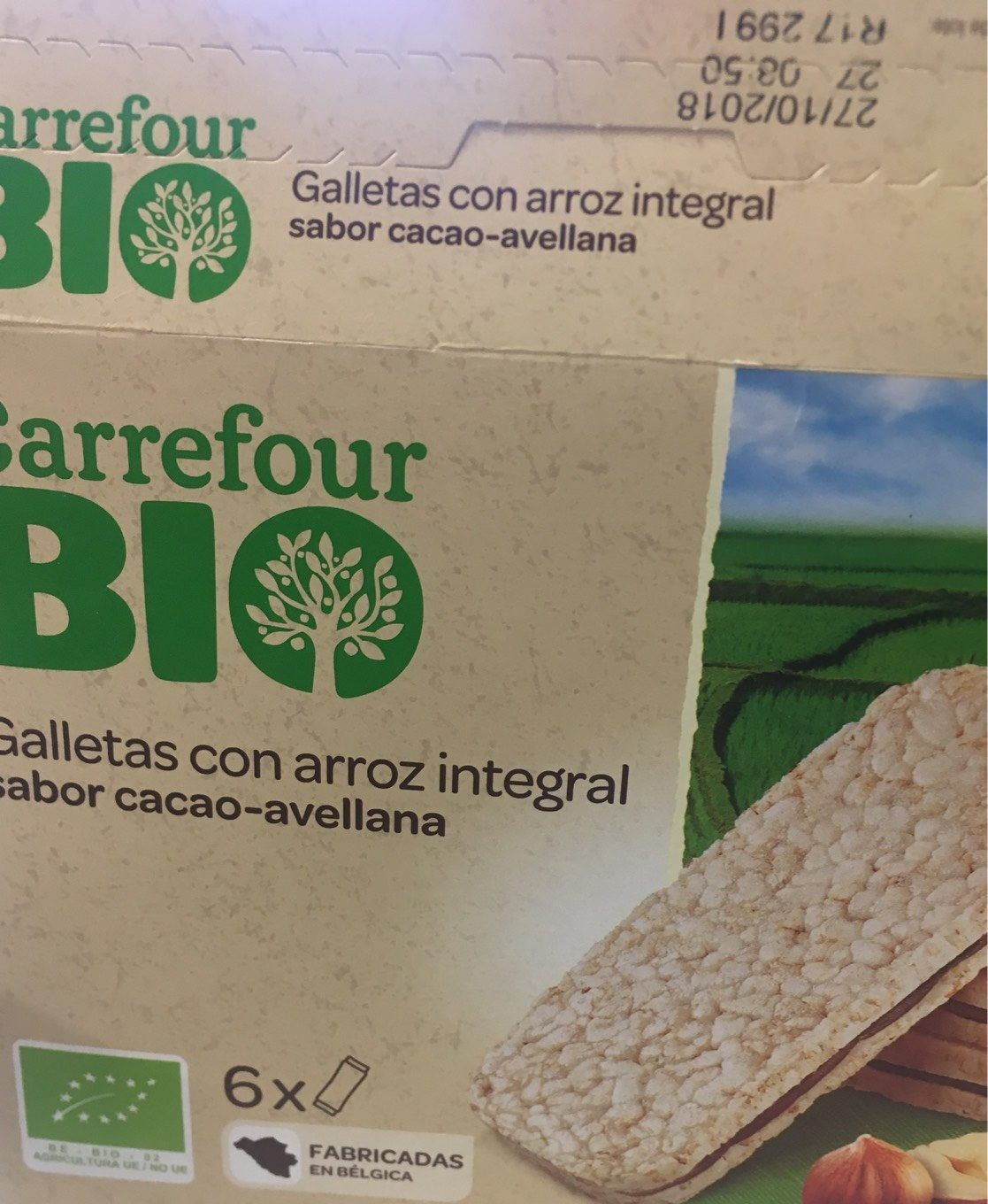 Biscuit riz integral - Producto