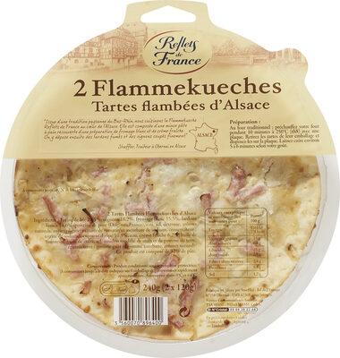 2 Flammekueches Tartes flambées d'Alsace - Produit - fr