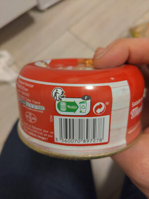 Salade au thon Mexicaine - Instruction de recyclage et/ou informations d'emballage - fr
