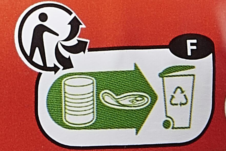 Salade au thon Catalane - Istruzioni per il riciclaggio e/o informazioni sull'imballaggio - fr