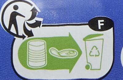 Salade aux légumes au Thon et au riz - Instruction de recyclage et/ou informations d'emballage - fr
