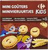 Mini Goûters Goût chocolat - Produit