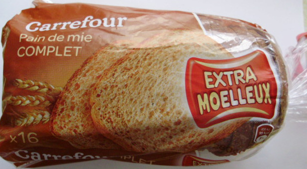 Pain de mie Complet - Extra moelleux - Product - fr