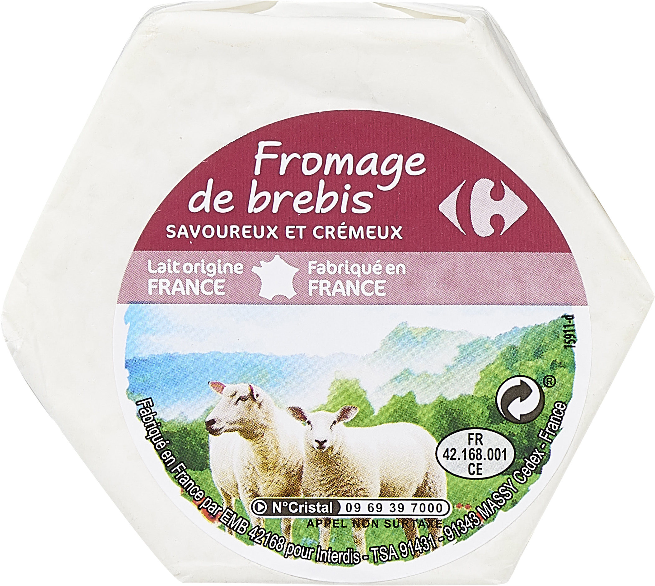 Fromage de Brebis - Product - fr