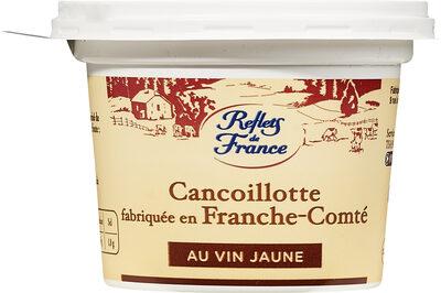 Cancoillotte fabriquée en Franche-Comté Au Vin Jaune - Product - fr
