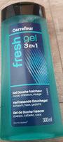 Carrefour gel douche corps cheveux visage 3 en 1 - Prodotto - fr