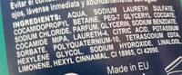 Carrefour gel douche corps cheveux visage 3 en 1 - Ingredienti - fr