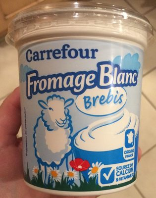 Fromage blanc  au lait de Brebis - Produit - fr