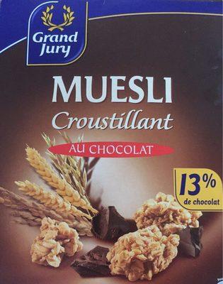Muesli croustillant au chocolat - Product