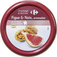 Fromage à tartiner Figue & Noix, aromatisé - Product - fr