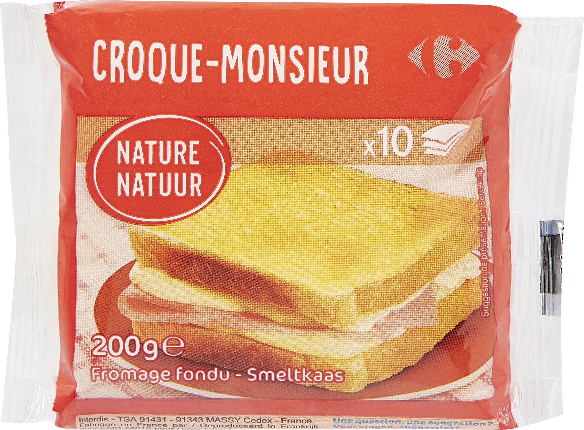 Croque-monsieur - Produit - fr
