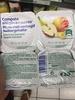 Compote allégée en sucres pomme banane - Product
