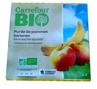 Purée de pommes bananes - Produit - fr