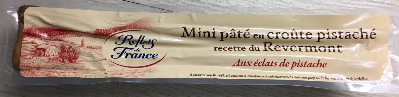 Mini Pâté en Croûte Pistaché, Recette du Revermont - Product - fr