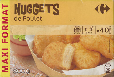 Nuggets de poulet - Product - fr