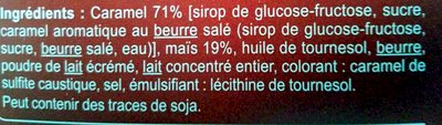 Popcorn caramel - Ingredienti - fr