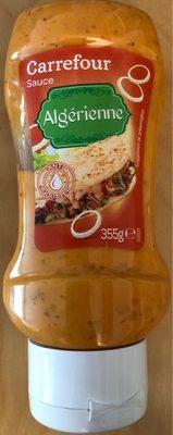 Sauce Algérienne - Produit