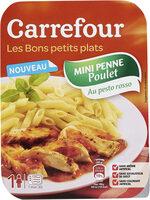 Mini penne au poulet sauce pesto rosso - Produit - fr
