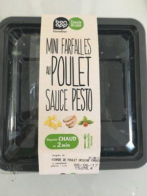 Mini farfalles au poulet sauce pesto - Product - fr