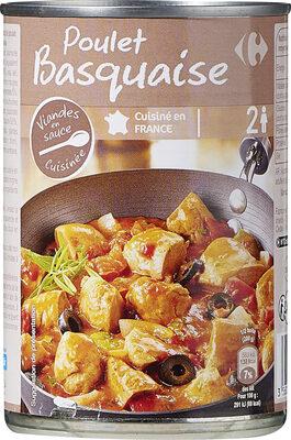 Poulet basquaise - Produit - fr