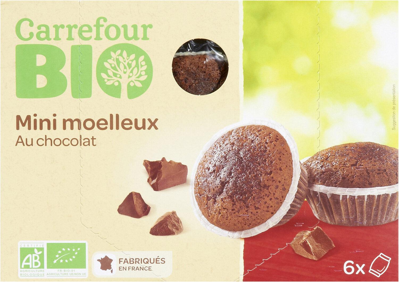 Mini moelleux au chocolat - Produit - fr
