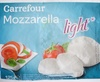 Mozzarella light* (9 % MG) - Produit