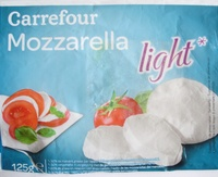 Mozzarella light* (9 % MG) - Produit - fr