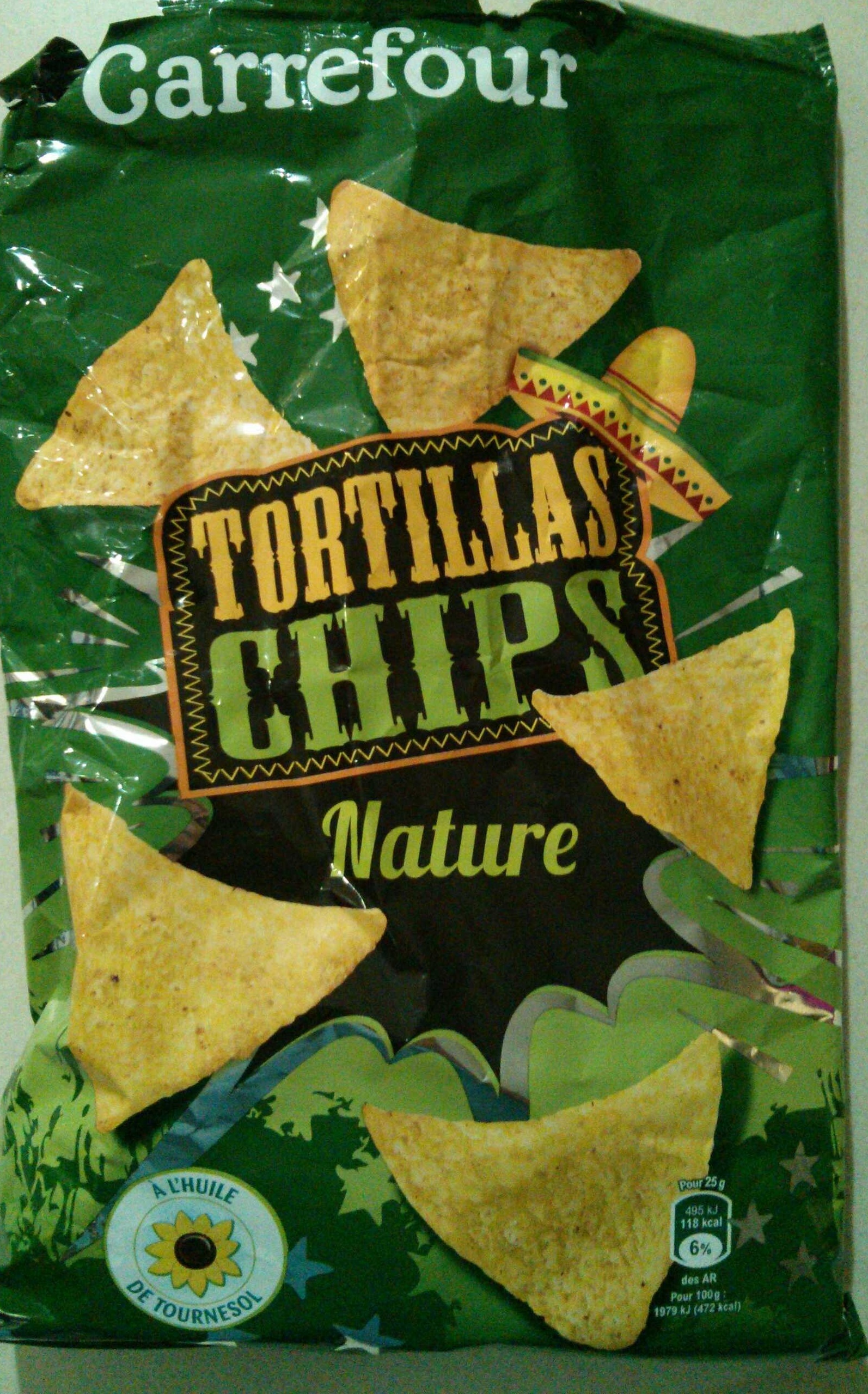 Tortillas chips nature - Product
