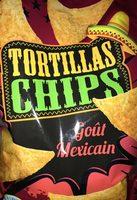 Tortillas chips goût mexicain - Product - fr