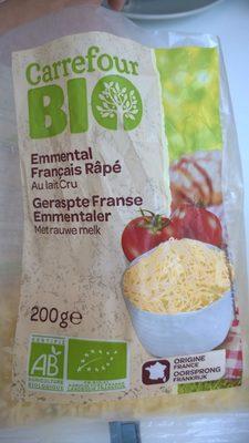 Emmental français râpé au lait cru - Produit - fr