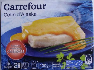 Colin d'Alaska sauce saveur Crustacés, Surgelé - Produkt - fr
