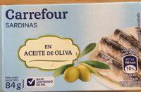 Sardinas en aceite de oliva - Product